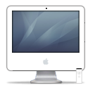 iMac iSight Graphite PNG