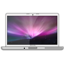 MacBook Pro Glossy Aurora PNG