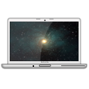 MacBook Pro Glossy Time Machine PNG