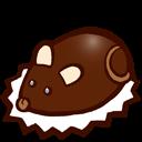 Souris en chocolat