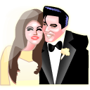 Full Size of Elvis and Priscilla Presley