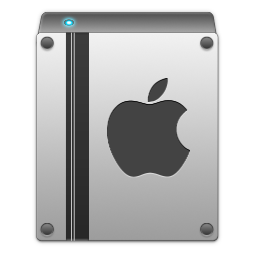 The gallery for --> Mac Hard Drive Icons