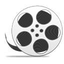 Reel with film copy