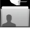 Folder User Graphite
