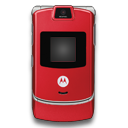 Motorola RAZR Red
