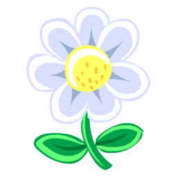 White Flower Icon Free Search Download As Png Ico And Icns Iconseeker Com