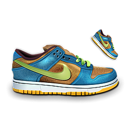 Full Size of Nike Dunk Blue & Brown