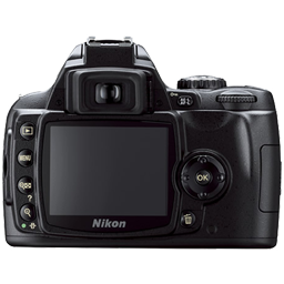 Full Size of Nikon D40 back