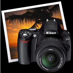 Full Size of Nikon D40 iPhoto