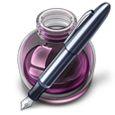 Pink w original pen