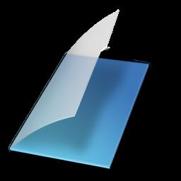 Full Size of Documents vide bleu