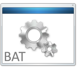 BAT File icon free search download as png, ico and icns, IconSeeker com
