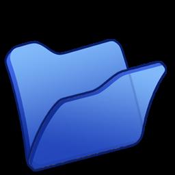 Full Size of Folder blue