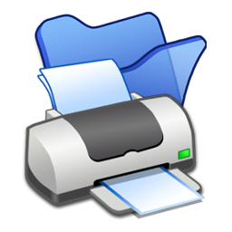 Full Size of Folder blue printer