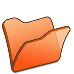 Full Size of Folder orange