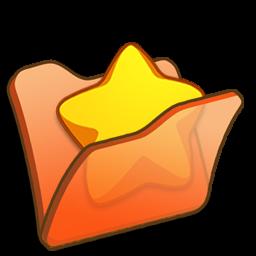 Full Size of Folder orange favourite