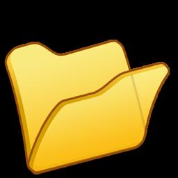 Full Size of Folder yellow
