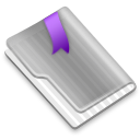 Grey Flag Purple