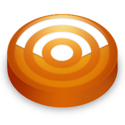 Full Size of Rss orange circle