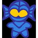 Alien Atlantah Blue