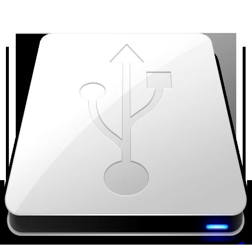 Full Size of USB White