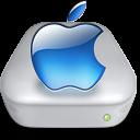 Drive Apple aqua metal