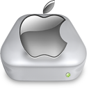 Drive Apple gray metal