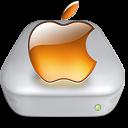 Drive Apple tangerine metal