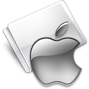 Folder Apple gray
