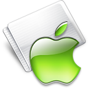 Folder Apple lime