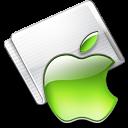 Folder Apple lime