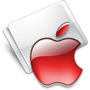 Folder Apple strawberry