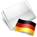 Folder Flag German