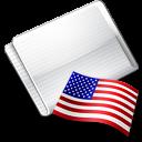 Folder Flag USA