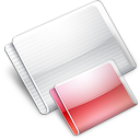 Folder Folders strawberry