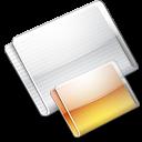 Folder Folders tangerine