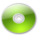 Optical Disk Aqua lime