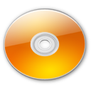 Optical Disk Aqua tangerine