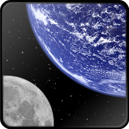 Earth And Moon Icon Free Search Download As Png Ico And Icns Iconseeker Com