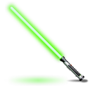 Qui Gon Jinns light saber