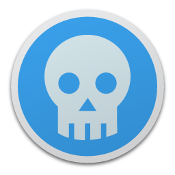 Full Size of Skull blue
