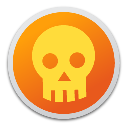 Full Size of Skull orange