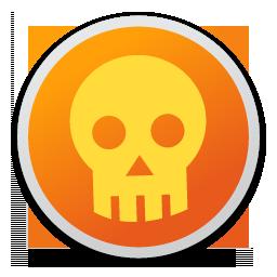 Full Size of Skull orange