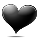 Full Size of Black heart