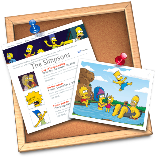 Full Size of iWeb simpsons