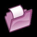 Full Size of Folder violet open