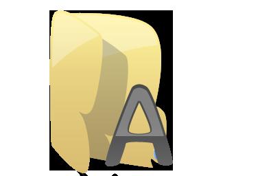Full Size of Fonts folder