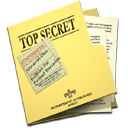 Top Secret Folder and Documents