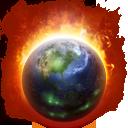 Full Size of Burning Globe