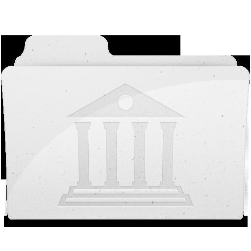 Full Size of LibraryFolderIcon White